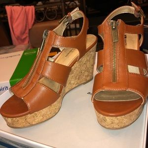 NEW Brown Sandal Wedges